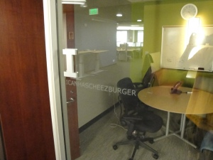 The 'ICANHAZCHEEZBURGER' Conference Room