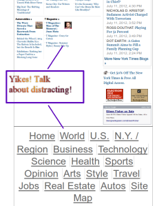 """NY Times """"Footer"""" bug in action"""